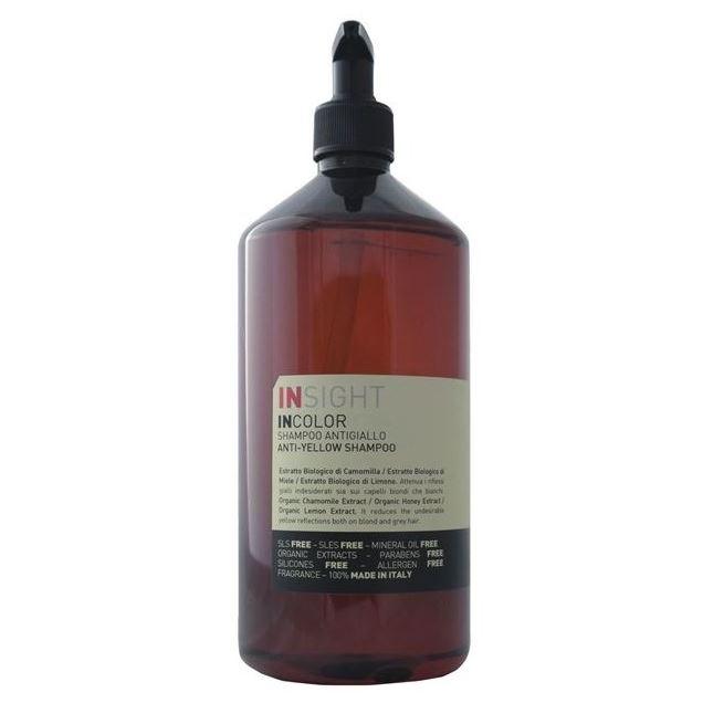 Шампунь Insight Professional Anti-Yellow Shampoo кислотные красители в алматы