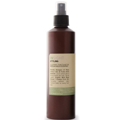 Лак Insight Professional Medium Hold Ecospray  250 мл insight styling oil non oil масло для укладки волос 250 мл
