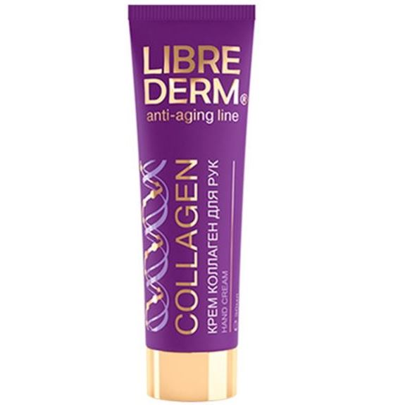 Крем Librederm Anti-Aging Line Collagen Hand Cream 30 мл the yeon soapy hand perfume clean крем для рук парфюмированный 30 мл