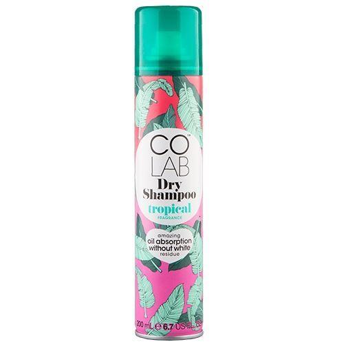 Шампунь Colab Fragrance Tropical  200 мл marlies moller specialist сухой шампунь придающий объем с шелком 4г