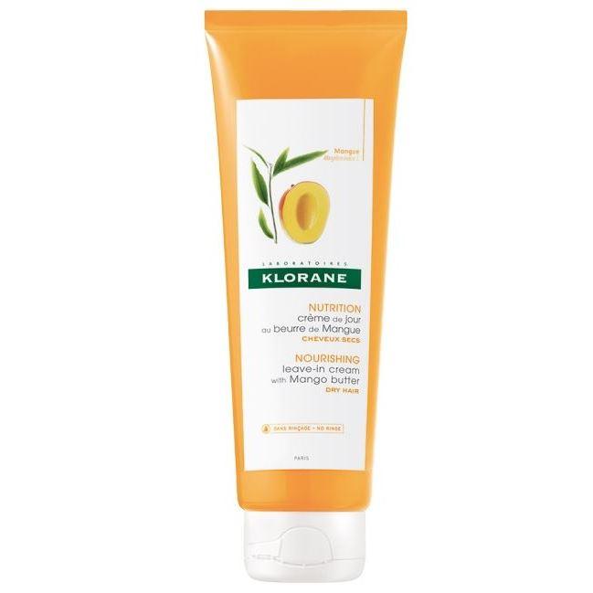 Крем Klorane Nutri-Reparative Leave-In Cream With Mango Butter Dry Hair klorane extra gentle dry shampoo цена