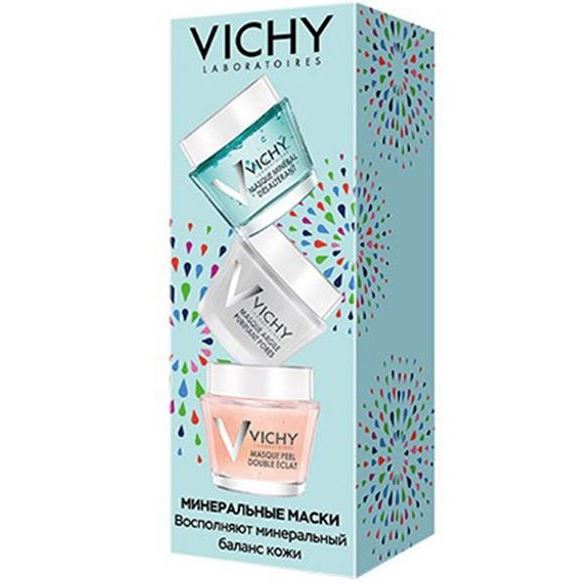 Маска VICHY Mineral Masks Set 15 мл недорого