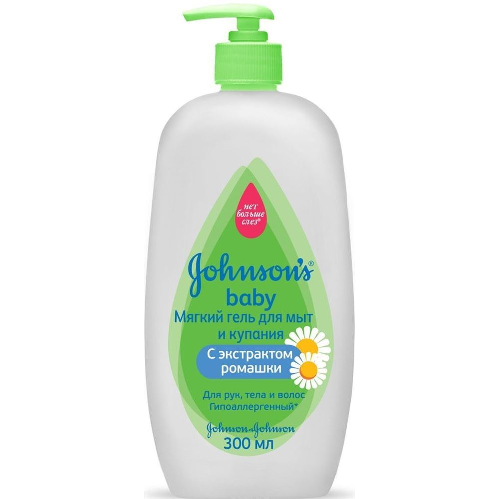 Гель Johnson & Johnson Мягкий гель для мытья и купания 300 мл mick johnson motivation is at