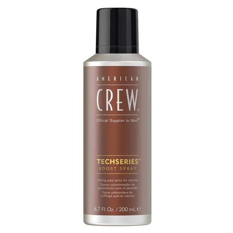 Спрей American Crew Techseries Boost Spray 200 мл american crew пудра для объема волос boost powder 10гр