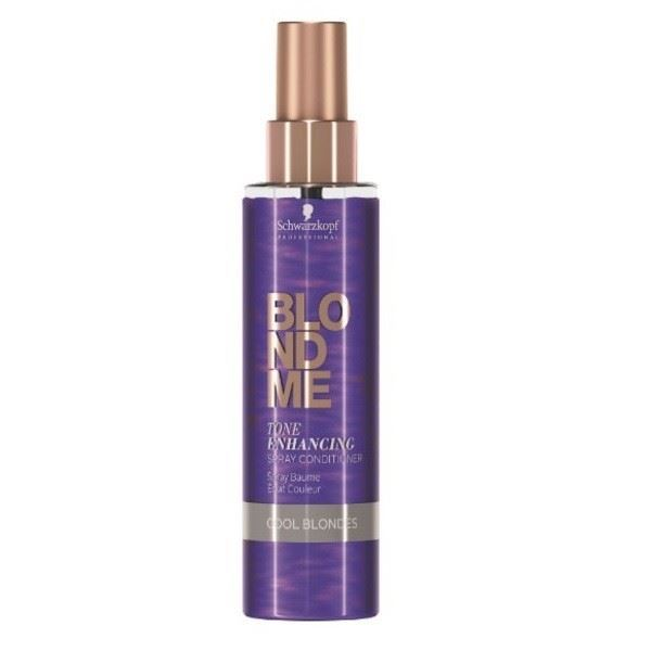 Краска для волос Schwarzkopf Professional Tone Enhancing Spray Conditioner Cool Blondes 200 мл schwarzkopf кондиционер пышный объем volume boost detangler 200 мл