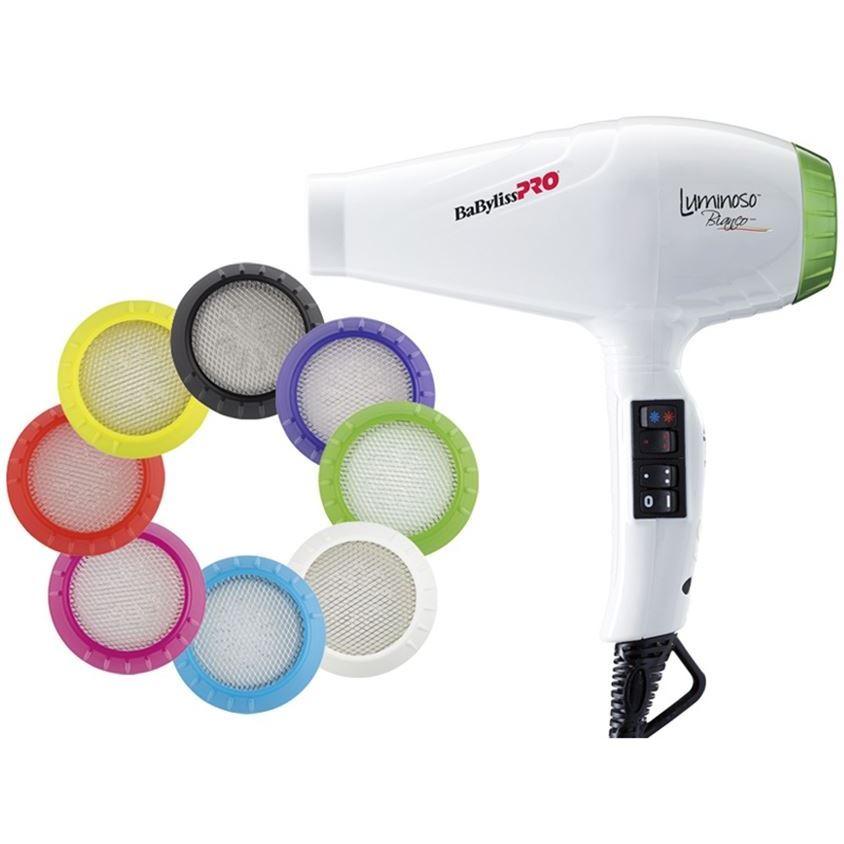 Фен BaByliss BAB6350IE Luminoso Bianco Ionic 2100W (BAB6350IE ) фен elchim 3900 healthy ionic red 03073 07