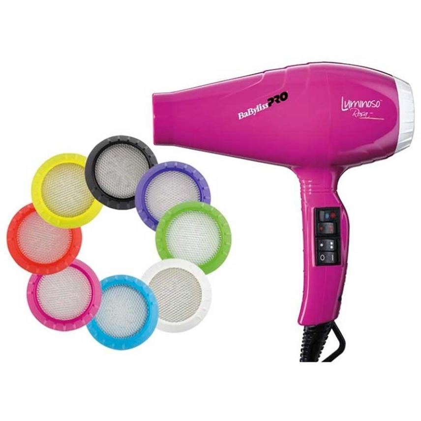 Фен BaByliss BAB6350IFE Luminoso Rosa Ionic 2100W (BAB6350IFE ) фен elchim 3900 healthy ionic red 03073 07