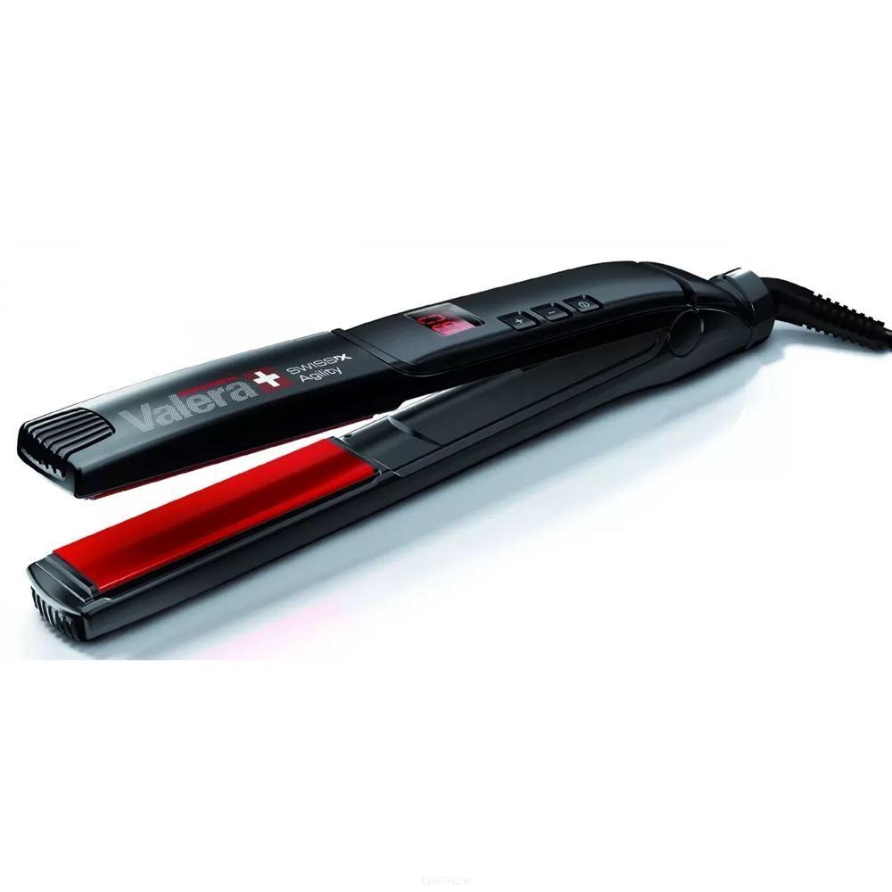 Щипцы Valera 100.20 Swiss'x Agility Щипцы-выпрямители для волос (1 шт) электрощипцы для волос valera conix 13 25mm 641 02
