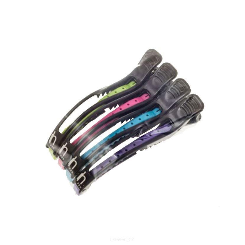Сопутствующие товары Harizma Professional h10904 Super Strong Зажимы для волос (1 шт) сопутствующие товары harizma professional h10503 кобура для ножниц прямоугольник 1 шт