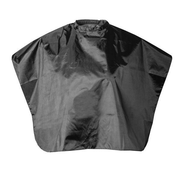 Сопутствующие товары Harizma Professional h10869 Пелерина черная 83х70 см (1 шт) сопутствующие товары harizma professional h10995 кобура для ножниц из натуральной кожи 1 шт