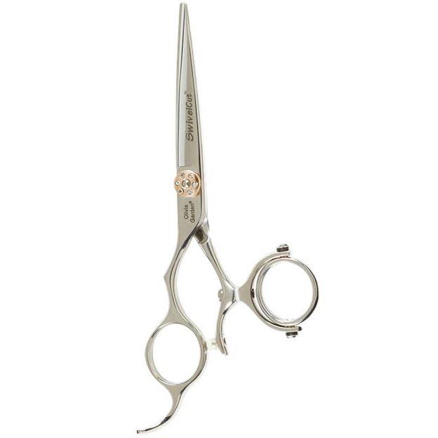 Ножницы Olivia Garden SH-SW1PC-CL575 Swivel Cut 575 For Lefthanded Ножницы парикмахерские (SH-SW1PC-CL575) парикмахерские принадлежности