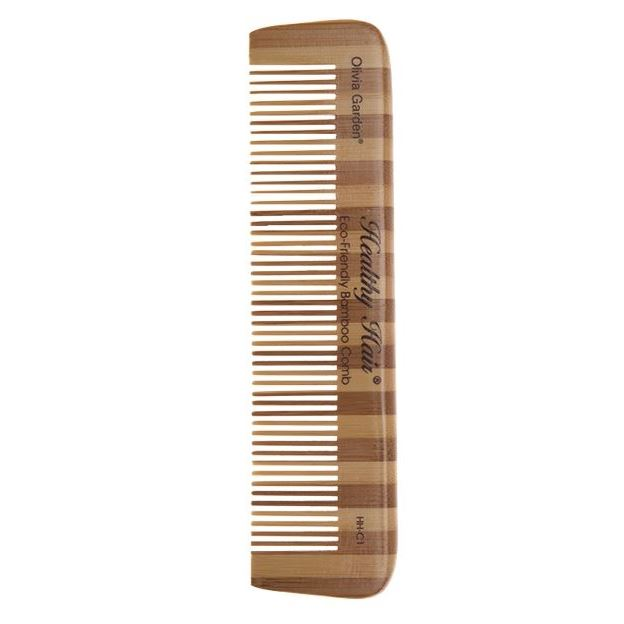 Расческа Olivia Garden OGBHHC1 Healthy Hair Сomb 1 Расческа для волос (OGBHHC1 ) щетка olivia garden ogbhhp6 healthy hair ionic combo paddle hh 6 щетка для волос ogbhhp6