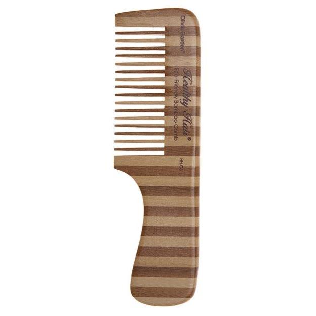 Расческа Olivia Garden OGBHHC3 Healthy Hair Сomb 3 Расческа для волос (OGBHHC3 ) щетка olivia garden ogbhhp6 healthy hair ionic combo paddle hh 6 щетка для волос ogbhhp6