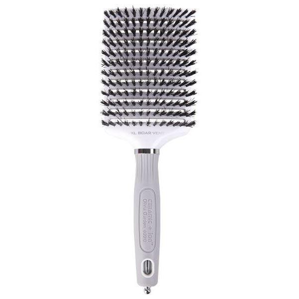 Щетка Olivia Garden OGBCIXLBO3V Ceramic + Ion XL Boar Vent Щетка для волос (OGBCIXLBO3V ) щетка olivia garden ogbhhp6 healthy hair ionic combo paddle hh 6 щетка для волос ogbhhp6