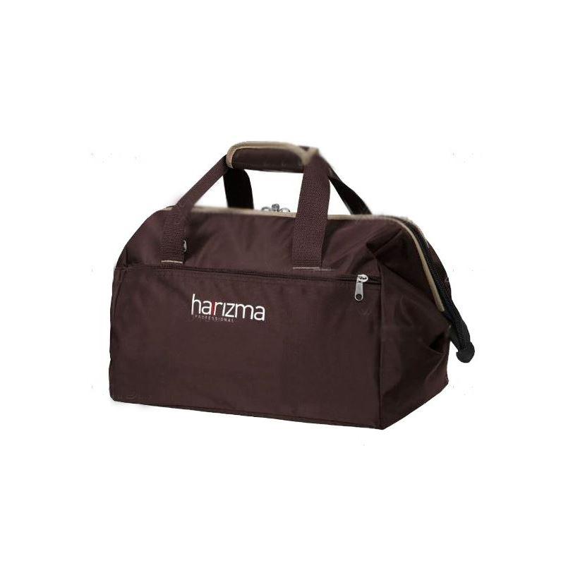 Сопутствующие товары Harizma Professional h10939-04 Саквояж для инструмента 48х28х23 см, коричневый (1 шт) сопутствующие товары harizma professional h10503 кобура для ножниц прямоугольник 1 шт