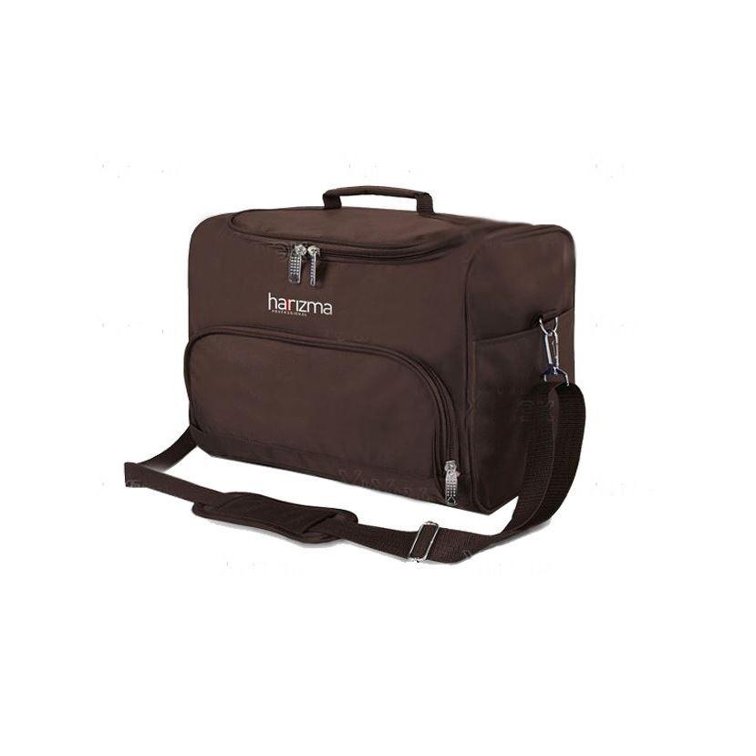 Сопутствующие товары Harizma Professional h10940-04 Сумка для инструментов 24х22х20.5 см, коричневая (1 шт) сопутствующие товары harizma professional h10503 кобура для ножниц прямоугольник 1 шт