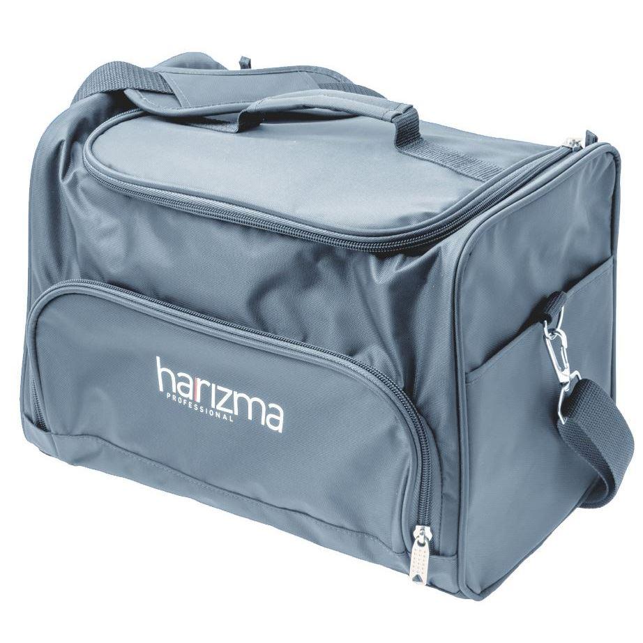 Сопутствующие товары Harizma Professional h10940-02 Сумка для инструментов 24х22х20.5 см, серая (1 шт)