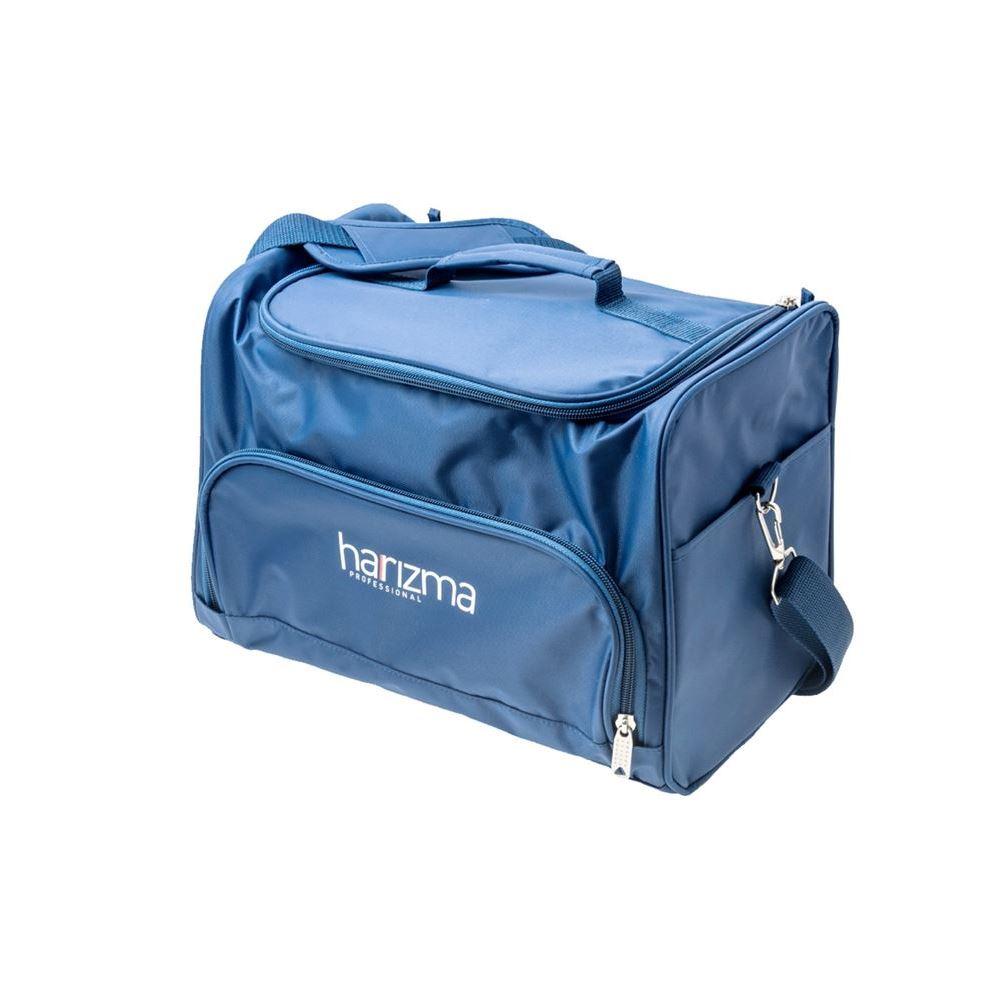 Сопутствующие товары Harizma Professional h10940-12 Сумка для инструментов 24х22х20.5 см, синяя (1 шт) сопутствующие товары harizma professional h10503 кобура для ножниц прямоугольник 1 шт
