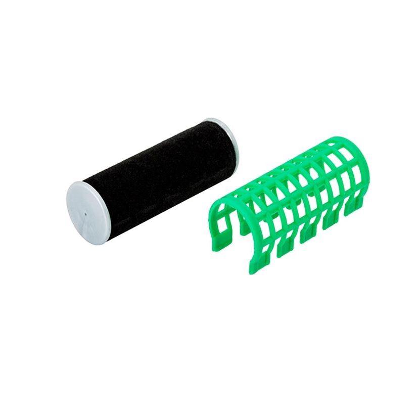 Сопутствующие товары Harizma Professional h10980-23 Термобигуди 23 мм, зеленые (1 шт) сопутствующие товары harizma professional h10995 кобура для ножниц из натуральной кожи 1 шт