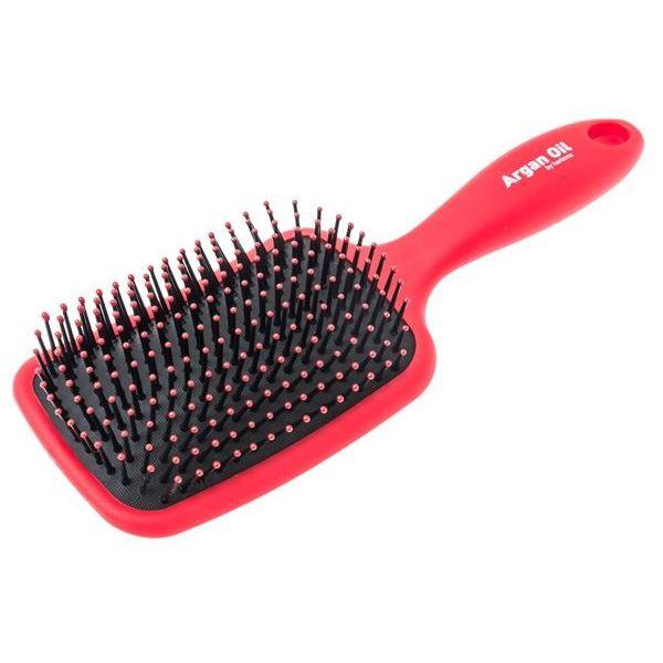 Расческа Harizma Professional h10693-03 Argan Oil Щетка для волос большая красная (1 шт) hask argan oil дуо набор для восстановления волос argan oil дуо набор для восстановления волос