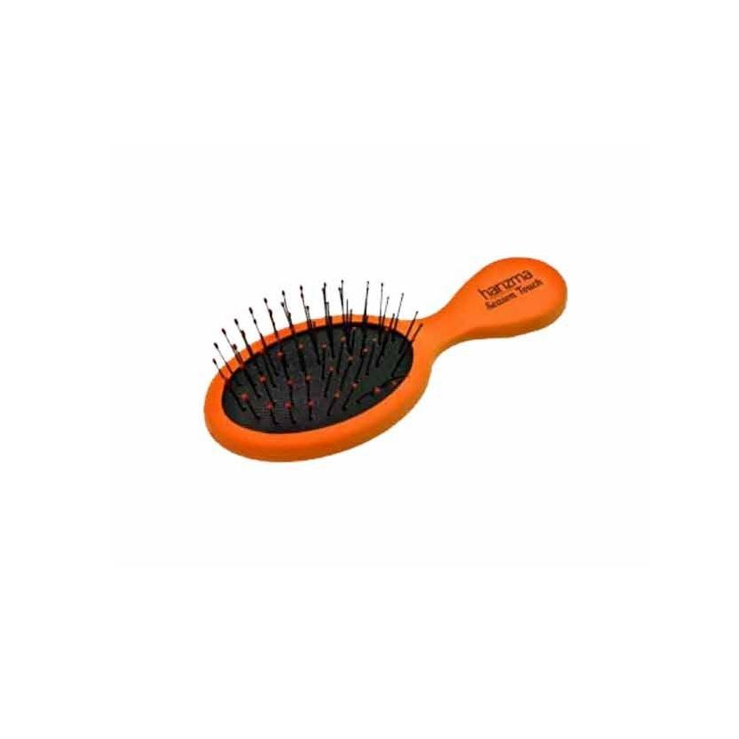 Расческа Harizma Professional h10637-05 Season Touch Щетка для волос малая оранжевая (1 шт) плойка harizma professional h10309lсd 33 curl control 33 мм плойка для волос 1 шт