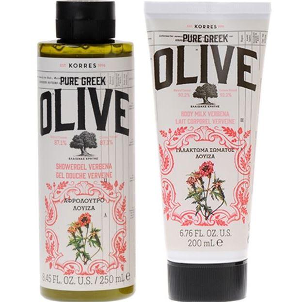 Набор: Набор Korres Pure Greek Olive - Verbena Gift Set