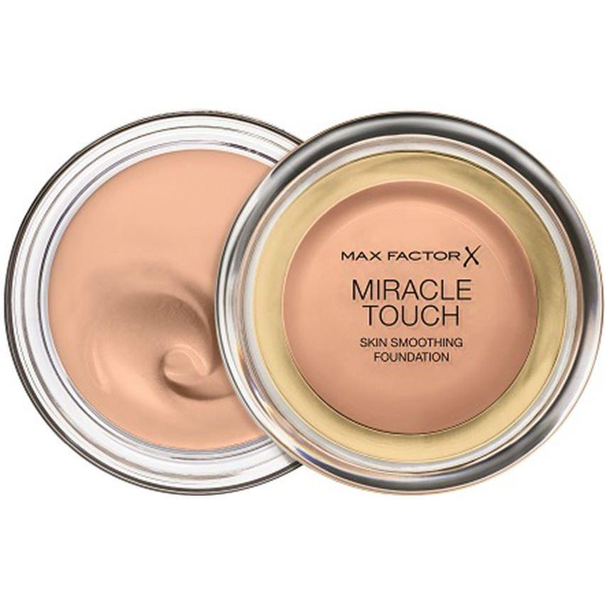 Тональный крем Max Factor Miracle Touch Skin Smoothing Foundation (55) туши max factor тушь с эффектом накладных ресницfalse lash effect epic black brown