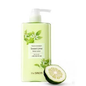Лосьон The Saem Touch On Body Sweet Lime Body Lotion 300 мл tegoder лосьон улучшающий тонус кожи тела tegoder ampoules body tightening tdc 90007 24 2 мл page 3
