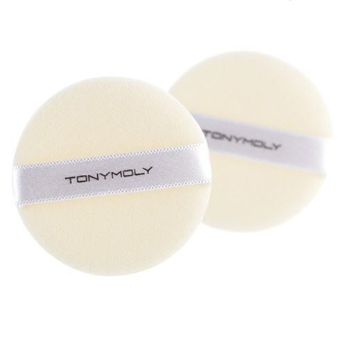 Спонж Tony Moly Case Powder Cotton Puff (1 шт) пудра tony moly face mix oil paper powder 9 г