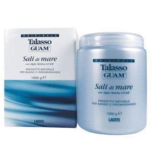 Соль для ванн Guam Соль для ванны расслабляющая Sali di Mare  (1000 гр)