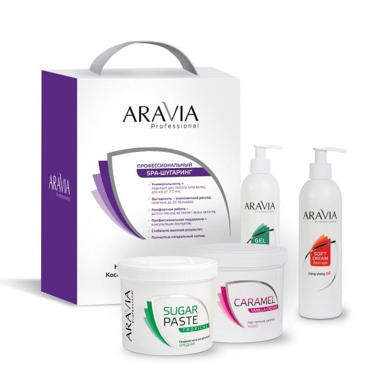 Набор Aravia Professional Промо-набор 3+1 №2 (Промо-набор №2) протеин fuze сreatine сливочная карамель 750 г
