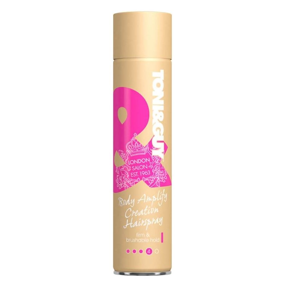 Лак Toni & Guy Body Amplify Creation HairSpray 250 мл крем моделирующий toni