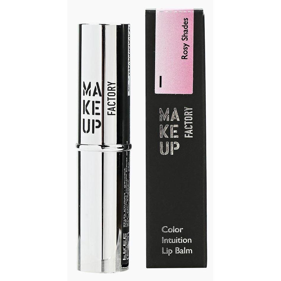 Блеск для губ Make Up Factory Color Intuition Lip Balm (01) hurraw бальзам для губ бергамот earl grey lip balm бальзам для губ бергамот earl grey lip balm 1 шт