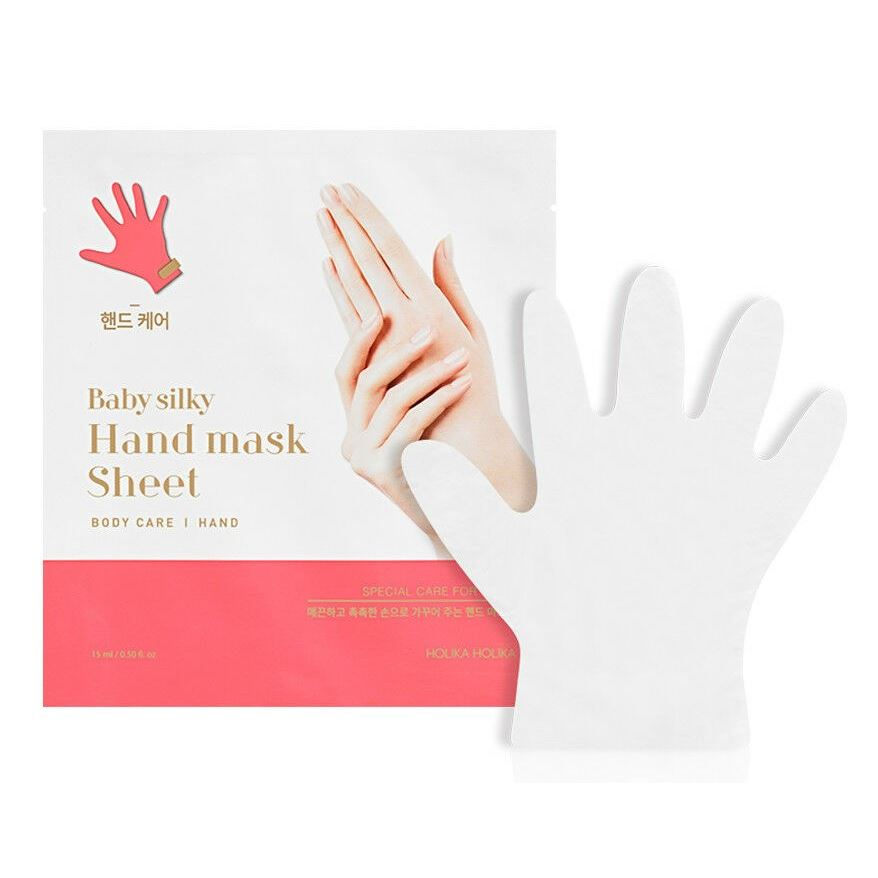 Маска Holika Holika Baby Silky Hand Mask AD 18 мл маска holika holika honey sleeping pack blueberry 90 мл