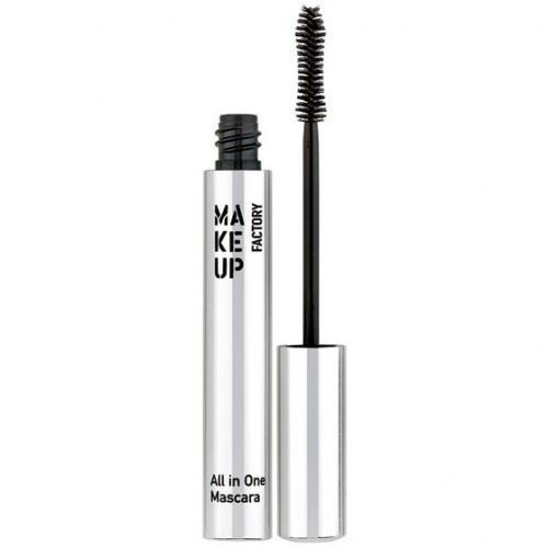 Тушь для ресниц Make Up Factory All In One Mascara (01) тушь для ресниц make up factory make up factory ma120lwhdr16
