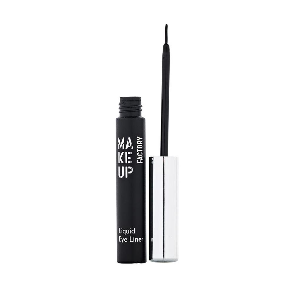 Подводка Make Up Factory Liquid Eye Liner  (01) laura mercier подводка для глаз tightline cake eye liner charcoal grey