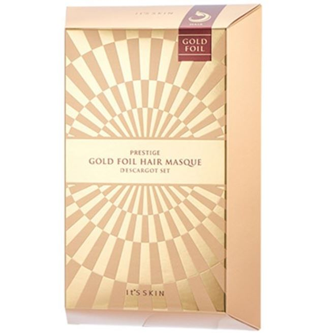 Маска It s Skin Prestige Gold Foil Hair Masque D'escargot (4 шт) prestige 151 s купить в уфе