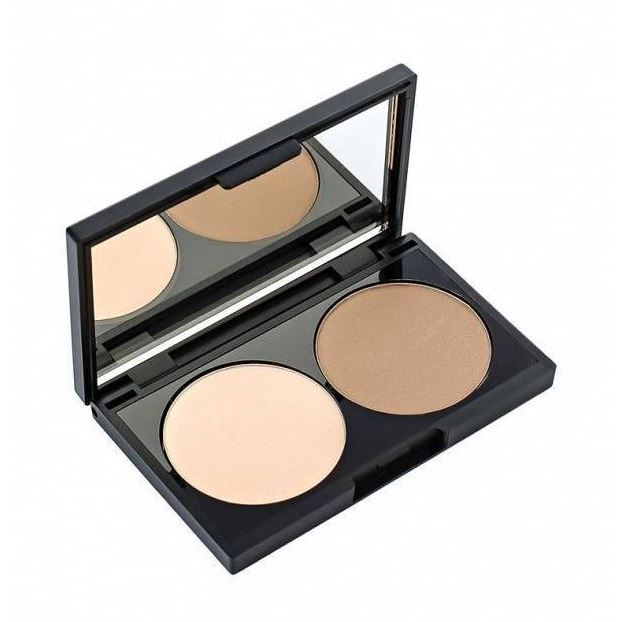 Пудра Make Up Factory Duo Contouring Powder  (15) mac splash and last pro longwear powder устойчивая компактная пудра dark tan