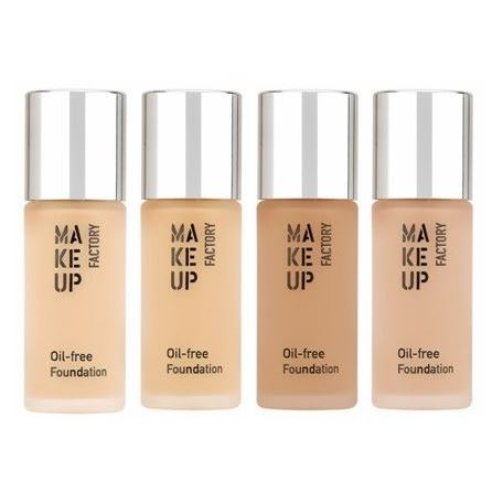 Наборы Make Up Factory Oil-free Foundation  (34) тональный крем make up factory make up factory ma120lwhds24