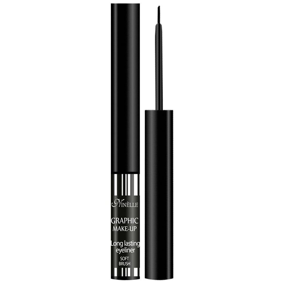 Подводка Ninelle Graphic Make-Up Long Lasting Eyeliner Soft Brush (29) румяна ninelle soft focus balance meteorites 31