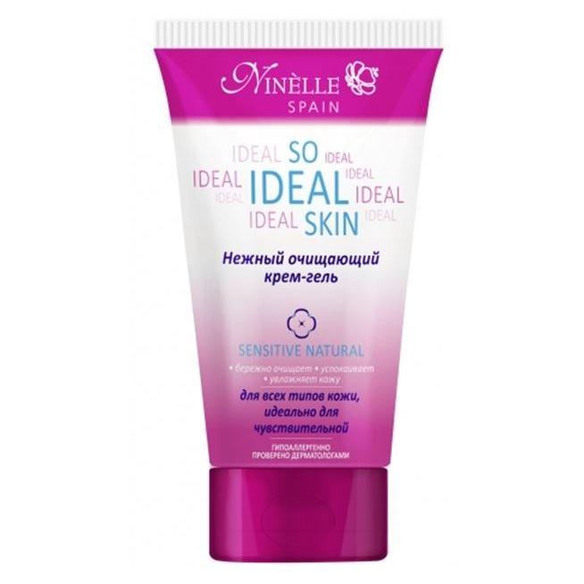 Гель Ninelle So Ideal Skin Sensitive Natural Нежный очищающий крем-гель it s skin успокаивающийочищающийгель