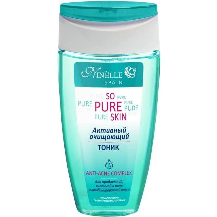 Тоник Ninelle So Pure Skin Anti-Acne Complex Активный очищающий тоник 150 мл nivea очищающий тоник pure