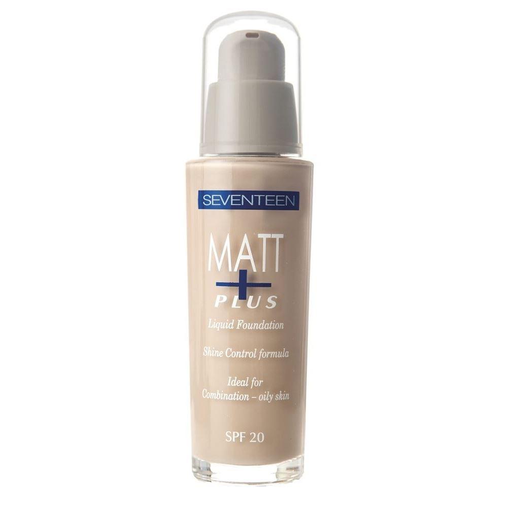Тональный крем Seventeen Matt Plus Liquid Make-UP SPF20  (03)