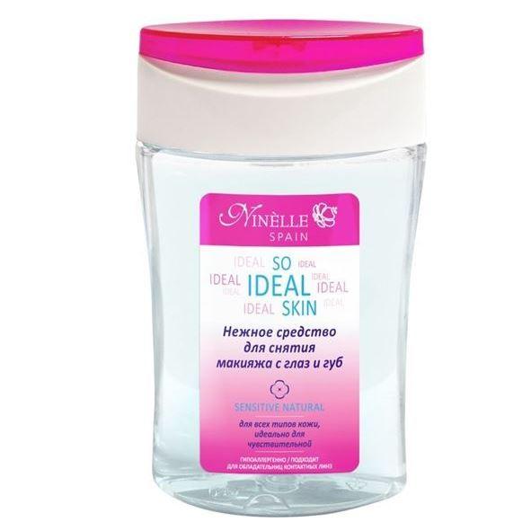Жидкость Ninelle So Ideal Skin Sensitive Natural Средство для снятия макияжа с глаз и губ 125 мл ковролин ideal arkansas 317 natural 3м
