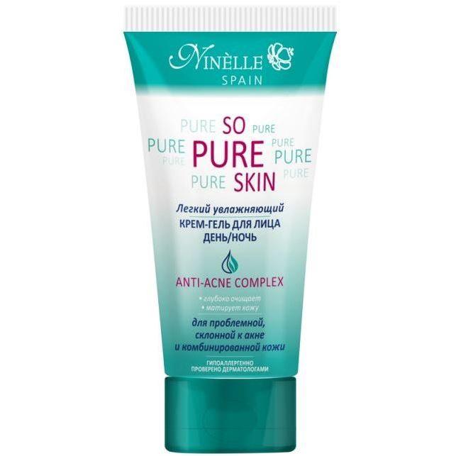 Гель Ninelle So Pure Skin Anti-Acne Complex Крем-гель для лица день/ночь крем premium крем гель anti acne с охлаждающим эффектом