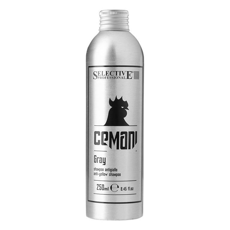 Шампунь Selective Professional Gray Anti-Yellow Shampoo 250 мл шампунь selective professional every day frequent wash shampoo 250 мл