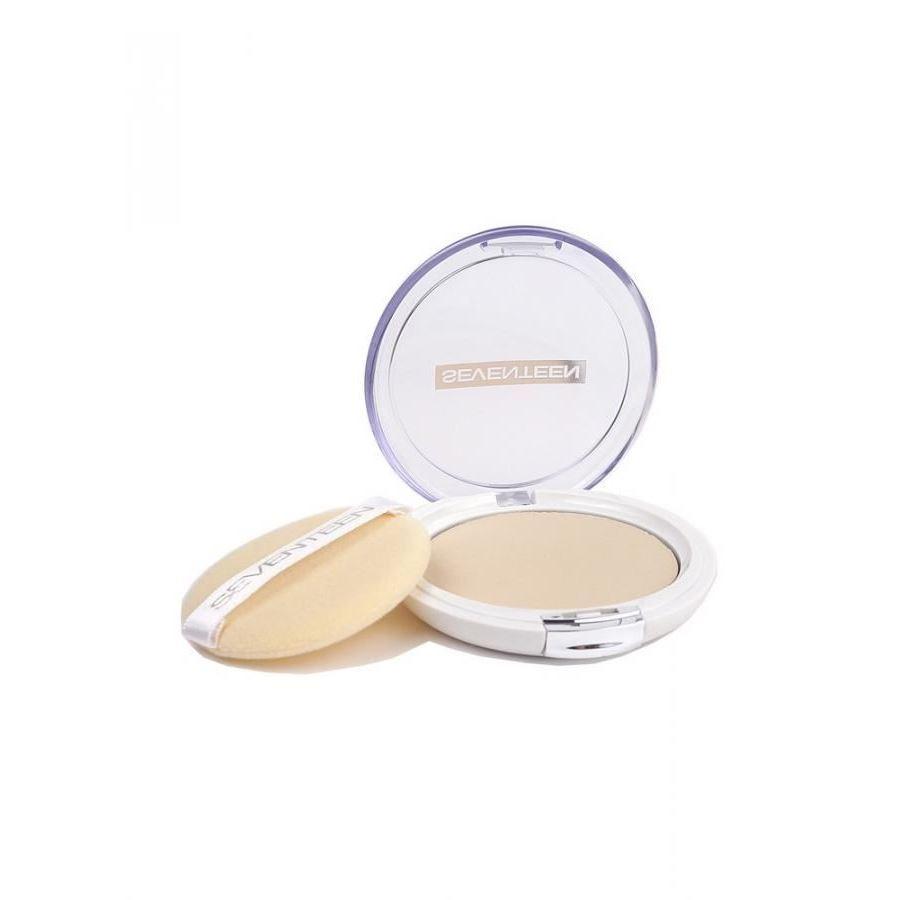 Пудра Seventeen Natural Silky Transparent Compact Powder SPF15 (08) seventeen компактная шелковая пудра для лица natural glow silky powder 08