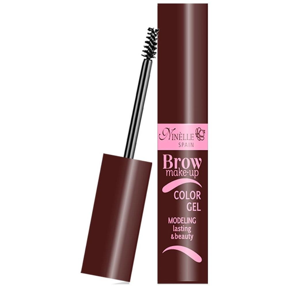 Корректоры Ninelle Brow Make-Up Color Gel Modeling Lasting & Beauty (02) ninelle гель лак для ногтей hot gel color тон g01 розовый 6 мл