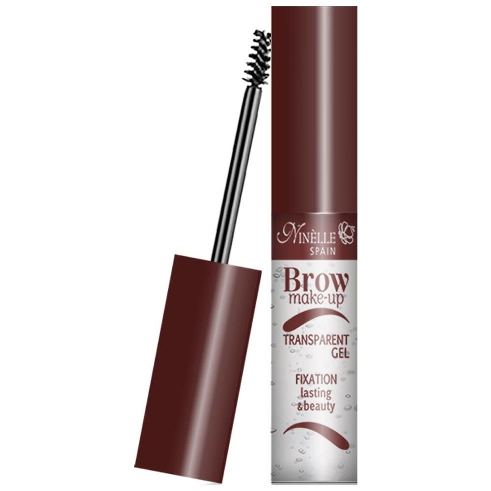 Корректоры Ninelle Brow Make-Up Transparent Gel Fixation Lasting & Beauty (Прозрачный) ninelle карандаш для бровей ultimate 407 1 5 г