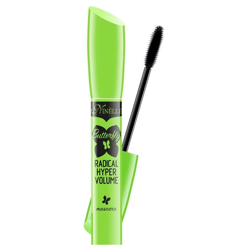 Тушь для ресниц Ninelle Butterfly Radical Hyper Volume Mascara (Черный) тушь для ресниц beyu volume now mascara